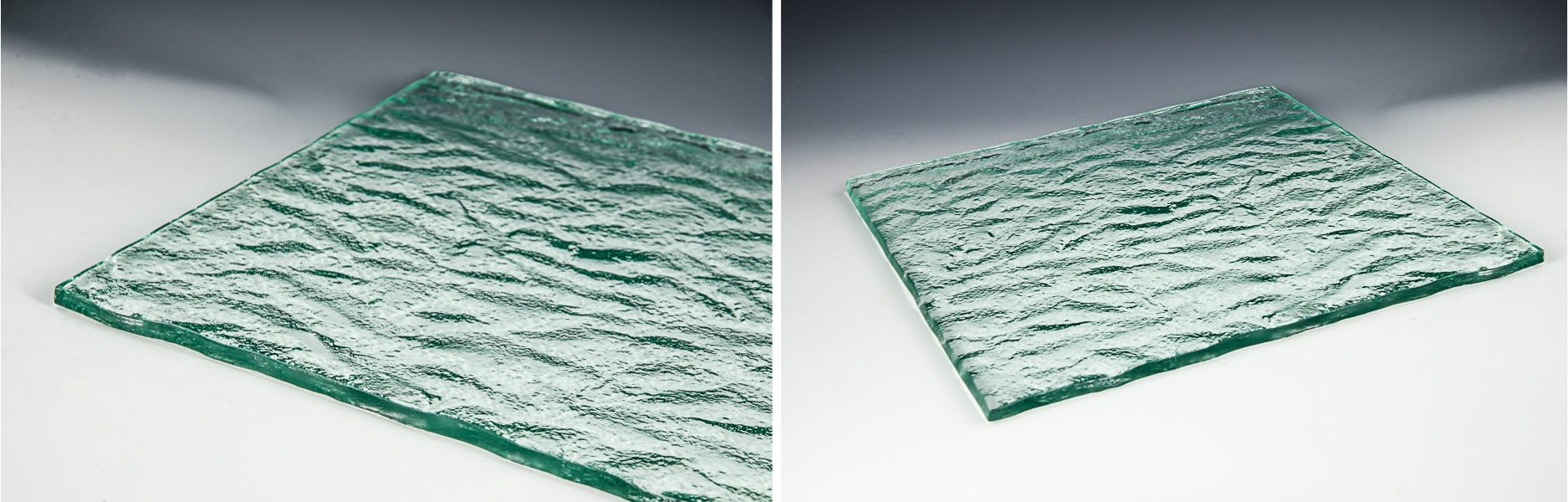 Rocky Mountain Textured Glass