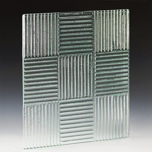Crossreed Textured Glass For Walls Glass Cladding And