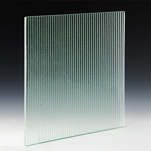 Linear Textured Glass