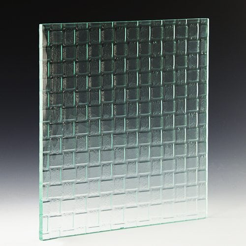Weave Textured Glass