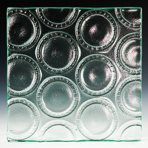 Bottle Base Clear Textured