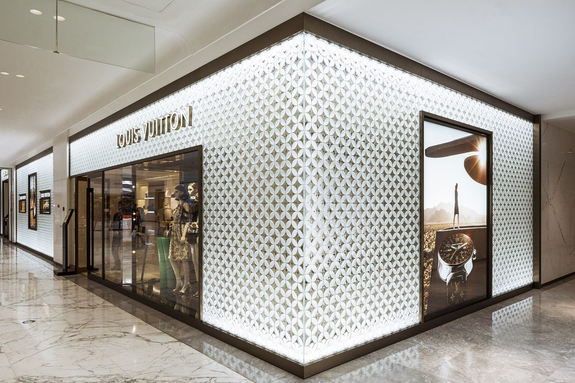 Louis Vuitton Beijing China Architectural Glass Partitions