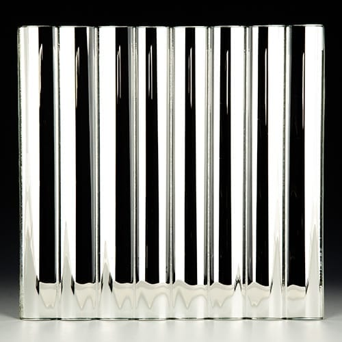 Cathedral Low Iron Silvered Glass
