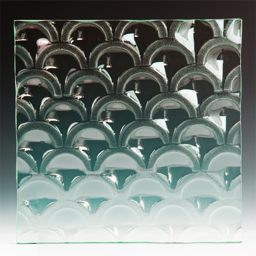 Arch Textured Glass