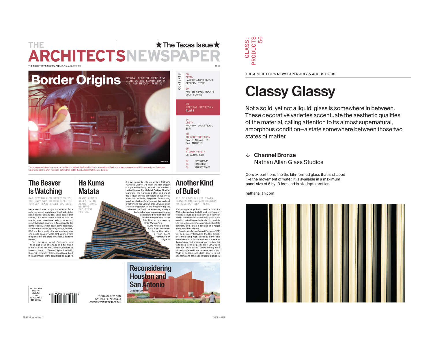 The Architect's Newspaper Channel Bronze