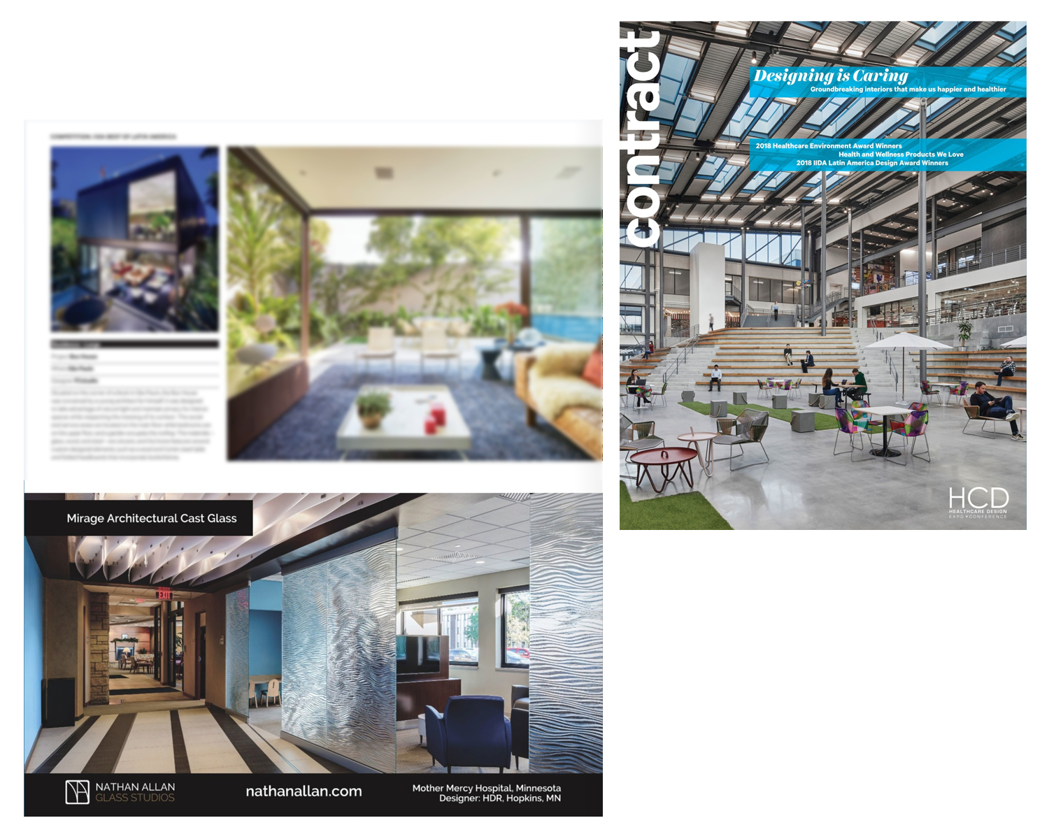 Contract Magazine | Mirage Architectural Cast Glass