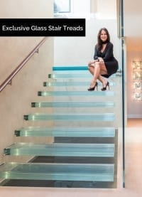 Hollingsworth Glass Stair Treads