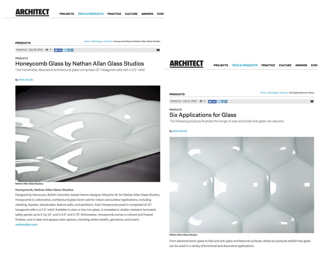 Architect Magazine | Honeycomb Glass