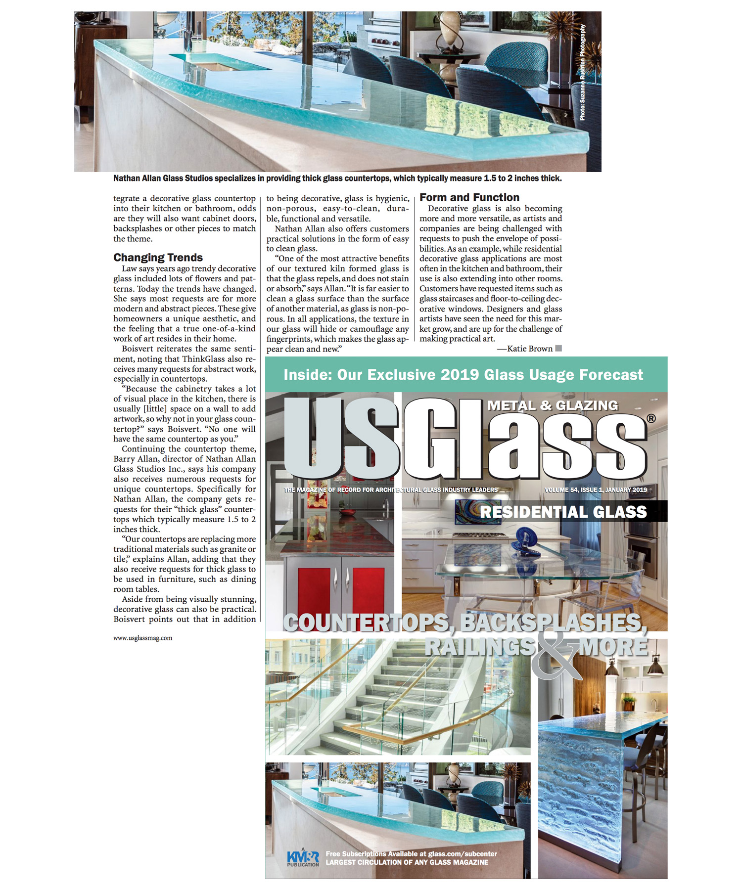 USGlass Magazine | Glass Countertop