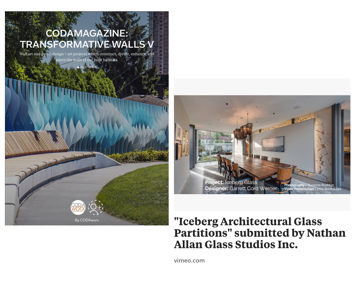 CODAmagazine | Iceberg Architectural Glass Partitions
