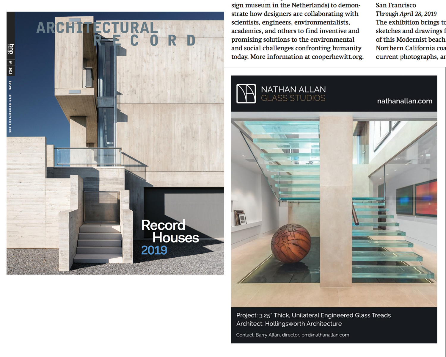 Architectural Record | Glass Stair Treads