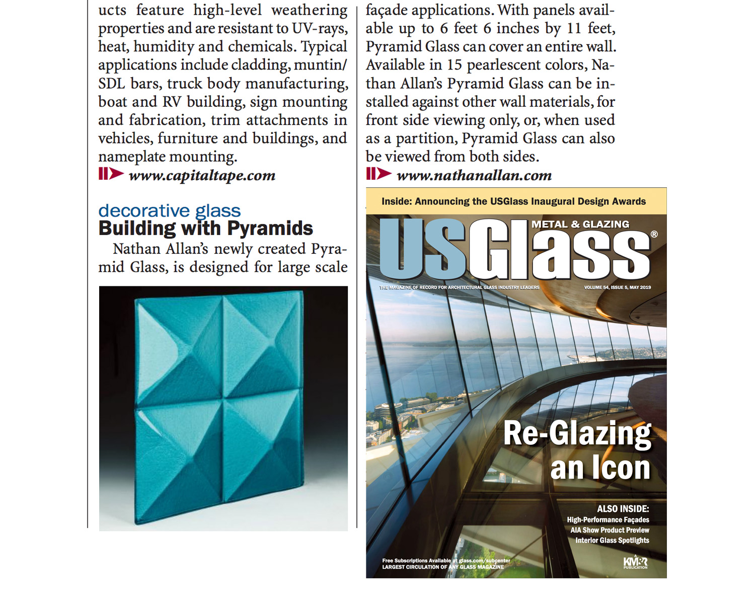 USGlass Magazine | Pyramid