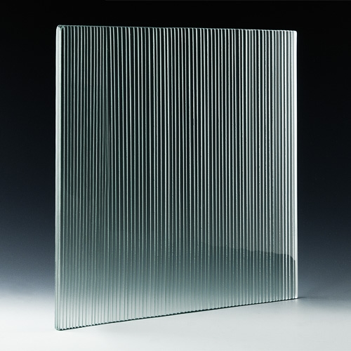Fluted Micro Architectural Cast Glass