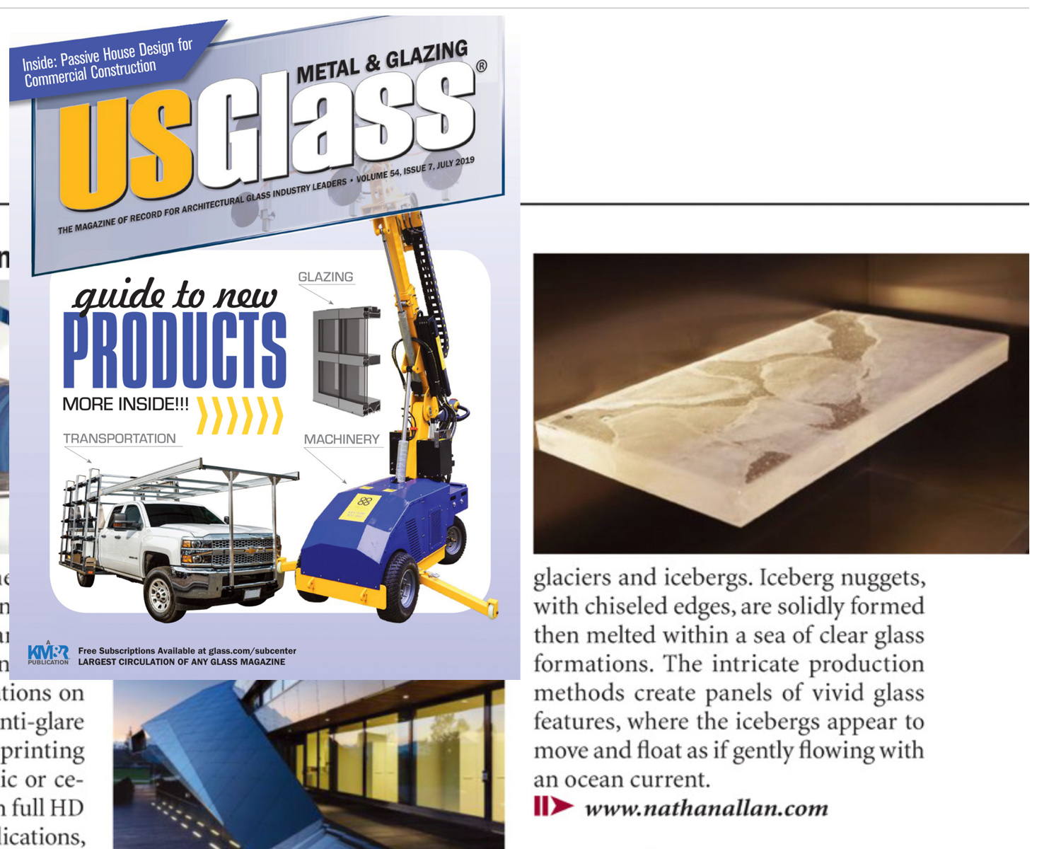 USGLASS MAGAZINE | Iceberg Glass